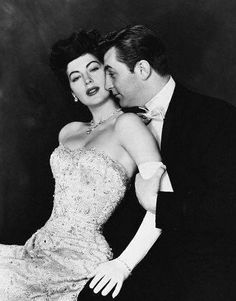 "Robert Mitchum and Ava Gardner in ""My Forbidden Past"" (1951)"