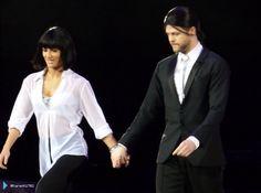 Jay e @AlionaVilani na turnê do Strictly em Glasgow, na Escócia. (via @KarenK1702) (6 fev.)