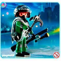 Amazon.com: Playmobil 4693 Police Special Unit: Toys & Games