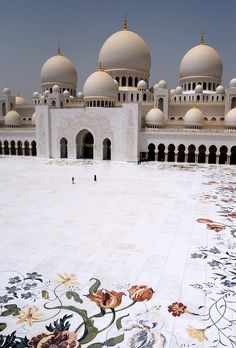 """""""The Sheikh Zayed Grand Mosque (in Abu Dhabi) represents great sentimental and moral value for the people of the UAE, and their leadership. It also constitutes one of the most prominent and beautiful architectural monuments in the world."""""""