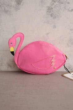flamingo clutch anyone?