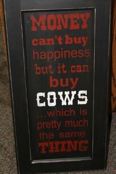 I want to buy this sign or maybe I'll make one myself for dad for Christmas.