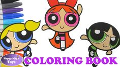The Powerpuff Girls Coloring Episode 11 – Buttercup, Blossom and Bubbles #thepowerpuffgirls #powerpuffgirls #buttercup #blossom #bubbles #powerpuffgirlscoloring #ColoringBook #happymagictoys