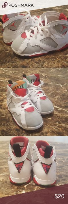 Toddler Jordan 7 Retro Toddler Jordan 7 Retro. Size 10C. No original box. Gently used. Jordan Shoes Sneakers