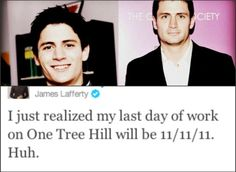 Thanks for bringing a character I grew to love, Nathan Scott, to life for the past 9 years, James Lafferty. Nathan Haley, Nathan Scott, Taylor James, James Lafferty, One Tree Hill, Someone Like You, Ex Husbands, Make A Wish