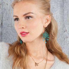 Bird Pendant & patina earrings  https://www.chloeandisabel.com/boutique/meganbarnes