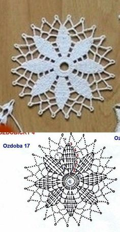 Watch The Video Splendid Crochet a Puff Flower Ideas. Phenomenal Crochet a Puff Flower Ideas. Crochet Snowflake Pattern, Crochet Motif Patterns, Crochet Snowflakes, Crochet Diagram, Crochet Chart, Crochet Stitches, Knitting Patterns, Crochet Towel, Crochet Doilies