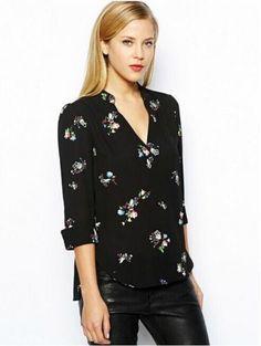blusas formales para dama manga 3/4 - Buscar con Google