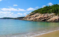 Der #Acadia #Nationalpark in #Maine grenzt an den #Atlantischen #Ozean © Charlotte Schinko