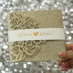 luxury champagne gold laser cut wedding invites – Invitation Ideas for 2020 Indian Wedding Invitation Cards, Wedding Invitation Video, Indian Wedding Cards, Glitter Wedding Invitations, Laser Cut Wedding Invitations, Printable Wedding Invitations, Elegant Wedding Invitations, Wedding Stationery, Wedding Card Design Indian