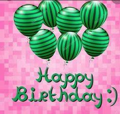 Happy Bday Pics, Happy Birthday Messages, Happy Birthday Images, Birthday Love, Happy Birthday Greetings, Birthday Wishes, Congratulations Balloons, Alpha Kappa Alpha Paraphernalia, Sorority Pictures