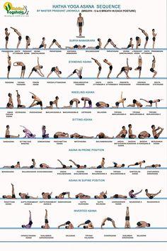 Bikram Yoga Postures, Kriya Yoga, Yoga Iyengar, Yoga Ashtanga, Ashtanga Yoga Primary Series, Yoga Bewegungen, Yin Yoga, All Yoga Asanas, Yoga Dance