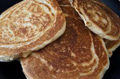 vegan apple pancakes