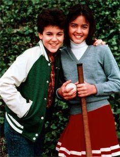 Fred Savage (Kevin) and Danica McKellar (Winnie) - The Wonder Years