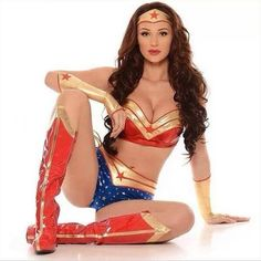 Wonder woman cosplay bondage ashley renee e hentai
