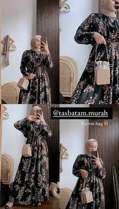 Casual Hijab Outfit, Ootd Hijab, Dress Muslimah, Hijab Fashion, Women's Fashion, Pakistani Formal Dresses, Korean Outfits, Online Shopping Clothes, Draw