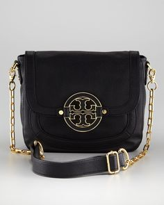 Tory Burch Amanda Crossbody Messenger, Black