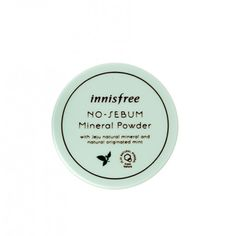 Buy Innisfree No sebum Mineral powder and other Innisfree powder products at StyleKorean online store. Mineral Powder, Innisfree, Korean Makeup, Health And Beauty, Minerals, Mint, Personal Care, Stuff To Buy, Philippines