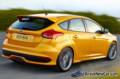 2015 Ford Focus ST rear view