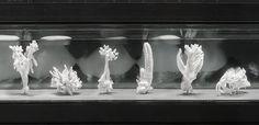 Julian Charrière, 'Future Fossil Spaces', 2014. Salt blocks from Salar de Uyuni, plaster, enamelled steel basins, lithium brine, dimensions variable. Installation view at Kunsthalle zu Kiel, Germany, 2015. Photograph: Helmut Kunde & Serena Acksel.