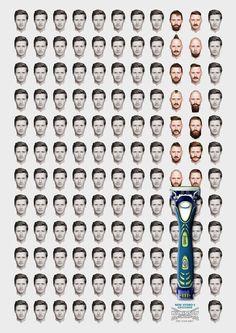 Wilkinson Sword Hydro 5 Groomer: Break the routine, 2 Advertising Agency: JWT, London, UK