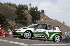 Jan Kopecky y Pavel Dresler se impusieron en el Canarias 2012 tras un emocionate duelo con sus compañeros de marca en Skoda Mikkelsen-Floene Rally Car, All About Time, Nostalgia, Cars, History, Vehicles, Rally, Historia, Autos