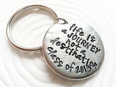 Hey, I found this really awesome Etsy listing at https://www.etsy.com/listing/151447948/personalized-key-chain-hand-stamped