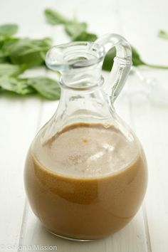 A versatile healthier balsamic vinaigrette recipe that can be whipped up in no time! So much better than store-bought dressings!