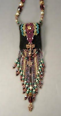 Macrame with beads