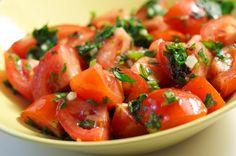 Pastanjauhantaa: Juhlallista vappua / marinoidut tomaatit