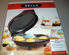 Bella Mini CupcakeMuffin Maker >>> Check out the image by visiting the link.(This is an Amazon affiliate link and I receive a commission for the sales)
