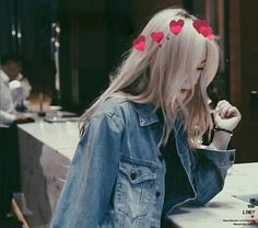 krystal in blonde hair is just a masterpiece