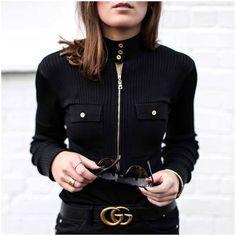 Imagen de black, casual, and sweater