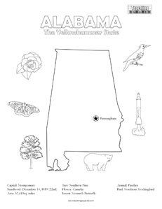 Virginia State Facts Worksheet: Elementary Version