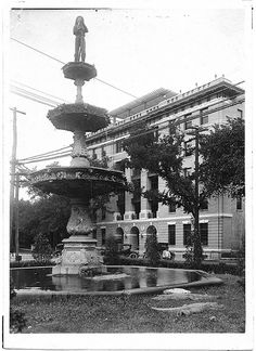 Many years before the Chattanooga Aquarium was built, in the early at the Fireman's Fountain, two alligators were the protectors of the fountain. Chattanooga Aquarium, Downtown Chattanooga, Chattanooga Tennessee, Outdoor Magazine, Tennessee Waltz, Living Vintage, Abandoned Amusement Parks, Hotel California, Fire Dept