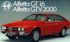 Alfa Romeo Alfetta GT 1600 Designed by Giorgetto Giugiaro