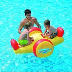 Jilong Seesaw Float - Wasserspielzeug Wippe, mit 2 Haltegriffen, 145x103x66 cm