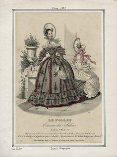 Ladies' Magazine - Le Follet May 1837 LAPL