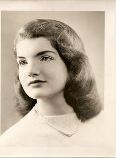 young JACQUELINE KENNEDY