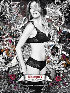triumph international maker campaign: illustration by kristjana s williams