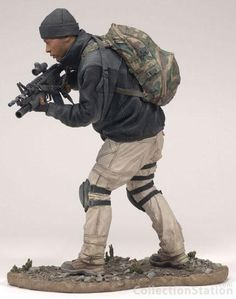 McFARLANE' S ACTION FIGURES SPECIAL FORCES FORZE SPECIALI FIGURINO SOLDATO