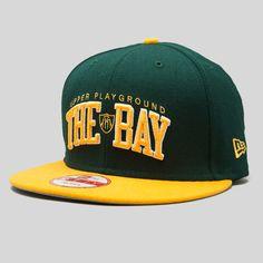 THE BAY Oakland Athletics Colors Snapback Cap