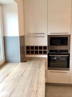 Moderní kuchyň Dub Halifax Egger H1180+bílý lesk