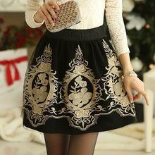 mulheres nova moda primavera verão 2014 saias curtas feminino saia das senhoras hot pants saia plissada saia cintura alta floral(China (Mainland))
