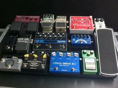 Lance Gatch's board. Check out his pedalboard demos on youtube