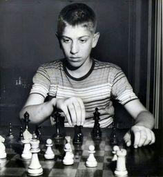 Bobby Fischer, 1957.