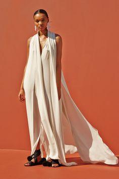 Juan Carlos Obando Spring 2016 Ready-to-Wear Fashion Show Look 13 Minimal Outfit, Minimal Fashion, White Fashion, Runway Fashion, Fashion Show, Fashion Design, Women's Fashion, Paris Fashion, Fashion Brand