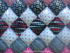 Puff Quilt How To... Quilts, quilts, quilts