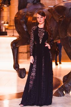 the northern blog awards evening at the Principal Hotel, Manchester | Black tie evening dress | black lace floor length stunning dress