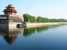 BEIJING. Wall around Forbidden City